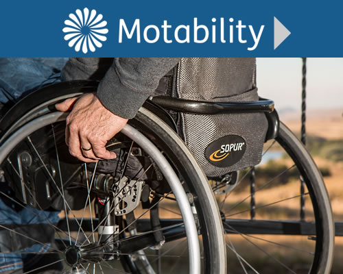 Motability Cars in Rothesay, Isle of Bute, Scotland